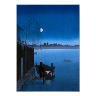 Mystic Midnight  III (BLUE) Poster
