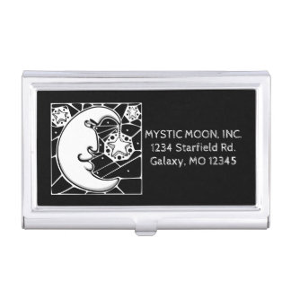 Mystic Moon and Stars Card Holder