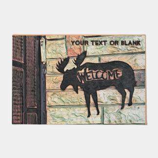 Mystic Moose  - Welcome Doormat