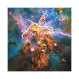 Mystic Mountain Carina Nebula Canvas Print