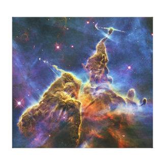 Mystic Mountain Carina Nebula HH 901 HH 902 Canvas Print