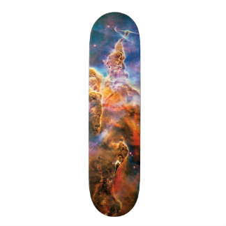 Mystic Mountain Carina Nebula Hubble Space Photo 21.6 Cm Old School Skateboard Deck