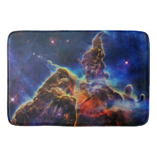 Mystic Mountain in Space NASA Bath Mat