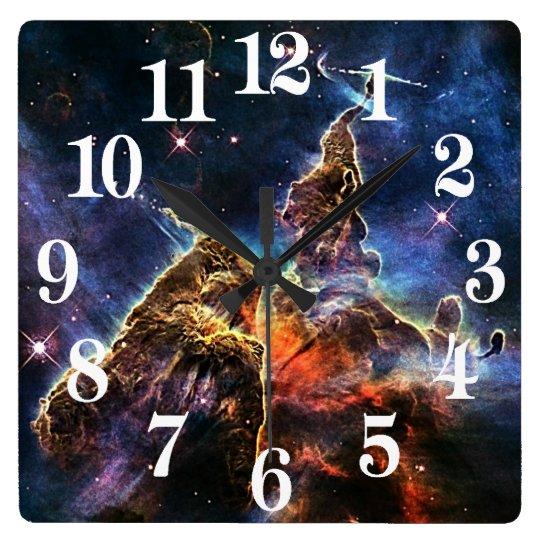 Mystic Mountain in Space NASA Clocks