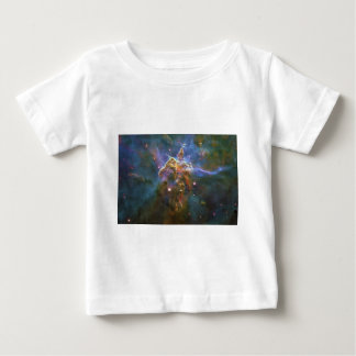 Mystic Mountain of Rising Gas in the Carina Nebula Baby T-Shirt