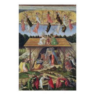 Mystic Nativity, 1500 Poster