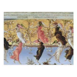 Mystic Nativity Postcard