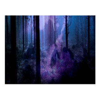 Mystic Night Postcard