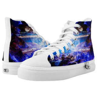 Mystic Night Printed Shoes
