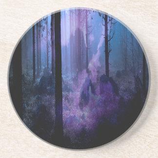 Mystic Night Sandstone Coaster