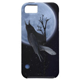 Mystic Raven & Full Moon Corvid-lover iPhone 5 Covers