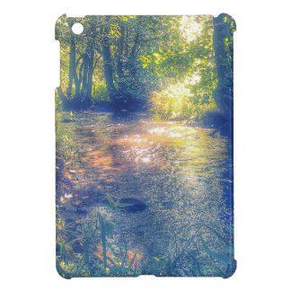 mystic river in summer cover for the iPad mini