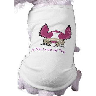 Mystic Rose Pit Bull Rescue Dog Tank Top Pet Clothes