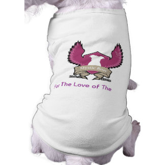 Mystic Rose Pit Bull Rescue Dog Tank Top Sleeveless Dog Shirt