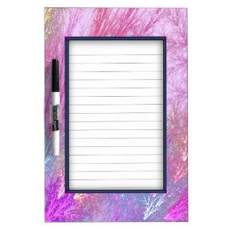 Mystic Splash Dry Erase Board