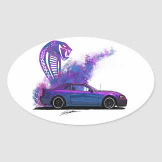 Mystic Sticker Oval Sticker