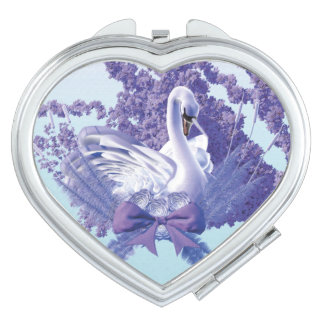 mystic  swan vanity mirrors