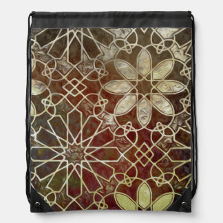 Mystic Tiles II Drawstring Bag