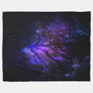 Mystic Tree Fleece Blanket