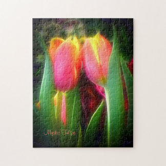 """""""Mystic Tulips"""" Jigsaw Puzzle - 252 pieces"""