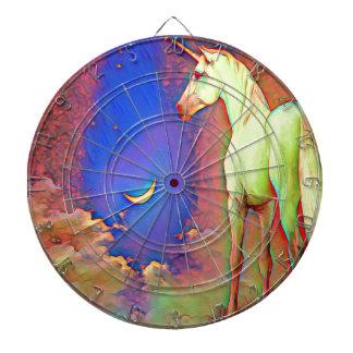 Mystic Unicorn Dartboard