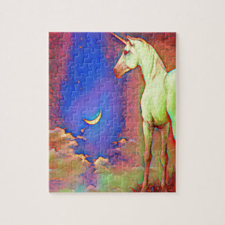 Mystic Unicorn Jigsaw Puzzle