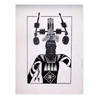 Mystic Warrior 4 by Piliero Postcard