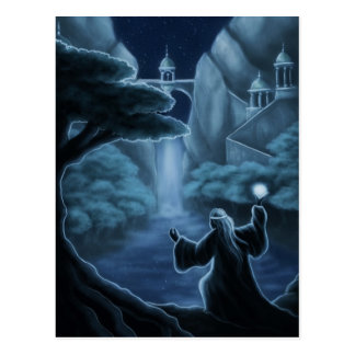 mystic waters fantasy post cards