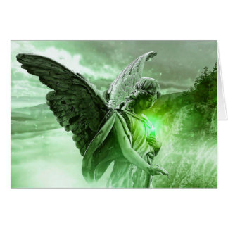 Mystical Angel Lyme Disease Support Friends Card