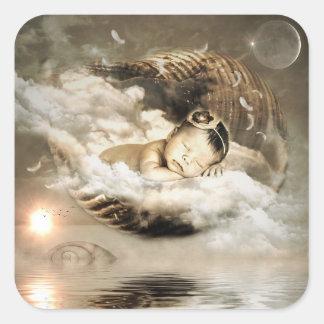 Mystical Baby Fairy Tale Sticker