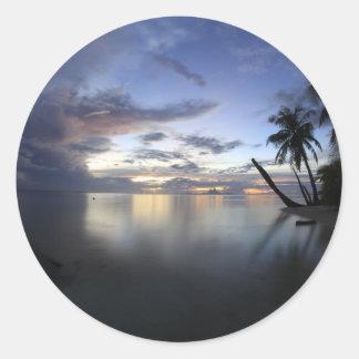 Mystical Bora Bora.JPG Classic Round Sticker