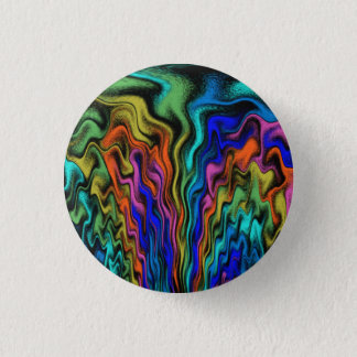 Mystical Flames 3 Cm Round Badge