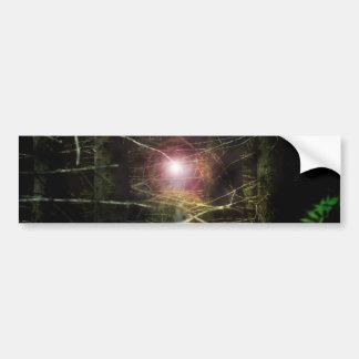 Mystical Forest Car Bumper Sticker