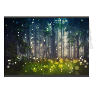 Mystical forest/clearing/nature, landscape card