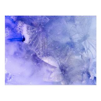 """""""Mystical Garden - Butterflies in Blue"""" collection Postcard"""