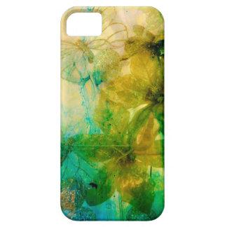 """Mystical Garden - Rays of Gold"" original Lyrical iPhone 5 Cases"