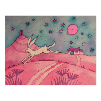 Mystical Hare Postcard