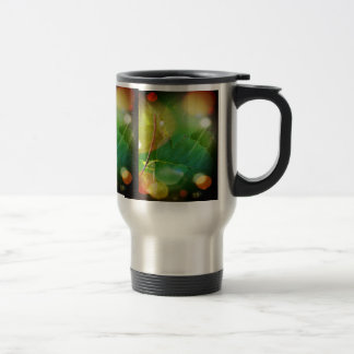 Mystical Leaves Stainless Steel 15 oz Travel Mug