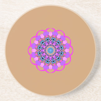 Mystical Mandala Coaster