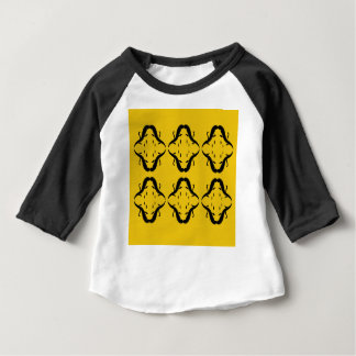 Mystical mandalas black on gold baby T-Shirt