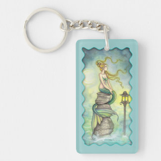 Mystical Mermaid Fantasy Art by Molly Harrison Key Ring