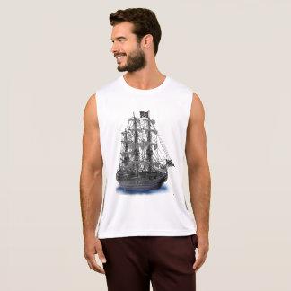 Mystical Moonlit Pirate Ship Singlet