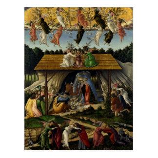 Mystical Nativity by Sandro Botticelli Postcard