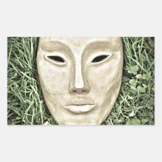 Mystical Nature Rectangular Sticker