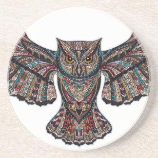 Mystical Owl Beverage Coaster