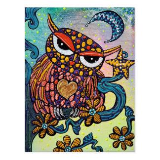 Mystical Owl Postcard