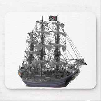 Mystical Pirate Ship Mouse Pad