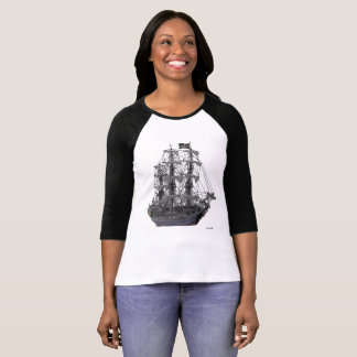 Mystical Pirate Ship T-Shirt