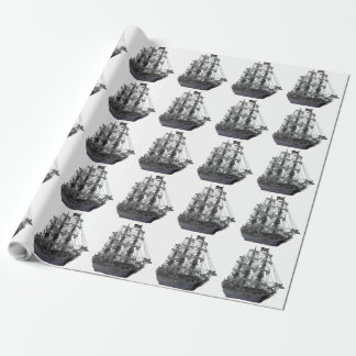Mystical Pirate Ship Wrapping Paper
