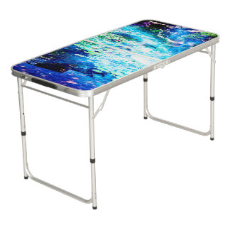 Mystical Pond Beer Pong Table
